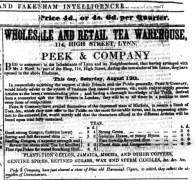 1848 August 12th Peek & Co @ No 114