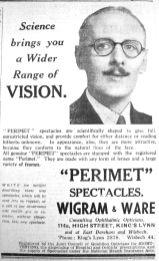 1938 Oct 7th Wigram & Ware