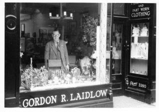 Edward Jermyn in shop (Keith Jermyn)