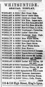 1897 June 4th Winkley & Son @ Nos 115 & 116