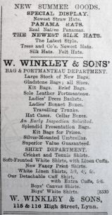 1903 May 15th W Winkley
