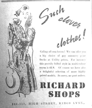 1945 April 27th Richard Shops