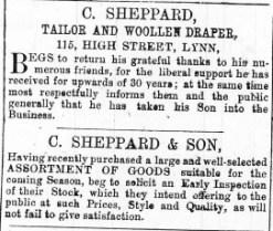 1869 C Sheppard @ No 115