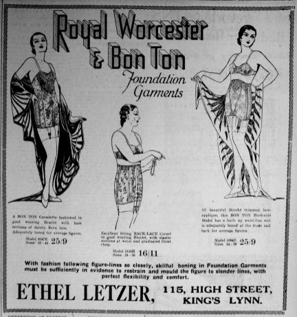 1931 Sept 25th Ethel Letzer