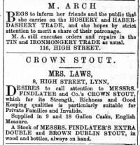 1868 March 28th M Arch @ No 116