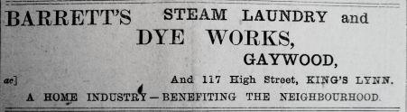 1911 July 28th Barretts open
