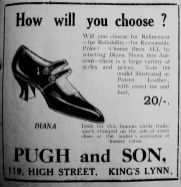 1925 Sept 25th Pugh & Son