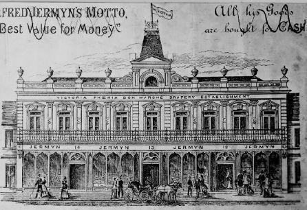 1880s (circa) Jermyns prior to 1884 fire