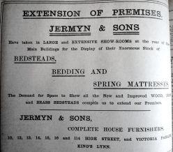 1909 July 9th Jermyns expand