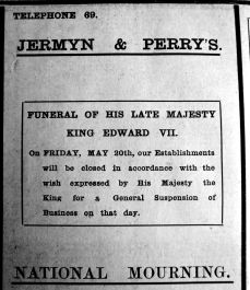 1910 May 13th Jermyn & Perry