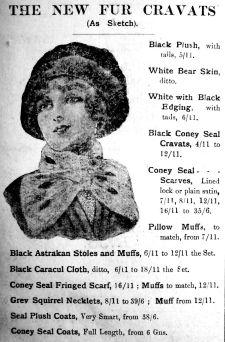 1912 Nov 9th Jermyn & Perry fur hats