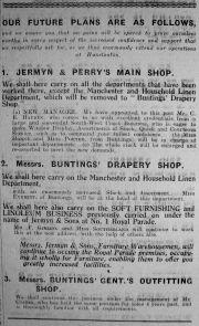1924 Mar 21st J & P take over Buntings @ Hunston 2