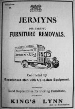 1930 Mar 21st Jermyns van