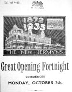 1935 Oct 4th Jermyns Gt opening