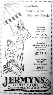 1951 June 1st Jermyns