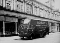 1960 (circa) Jermyn & sons van