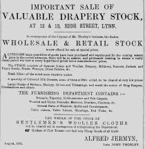 1872 Aug Alfred Jermyn