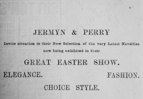 1891 Mar 21st Jermyn & Perry