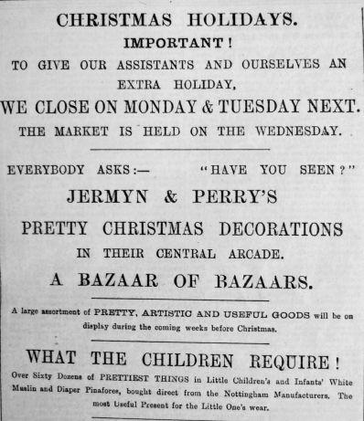 1892 Dec 24th Jermyn & Perry Christmas