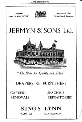 1930-31 Jermyn & Sons Ltd