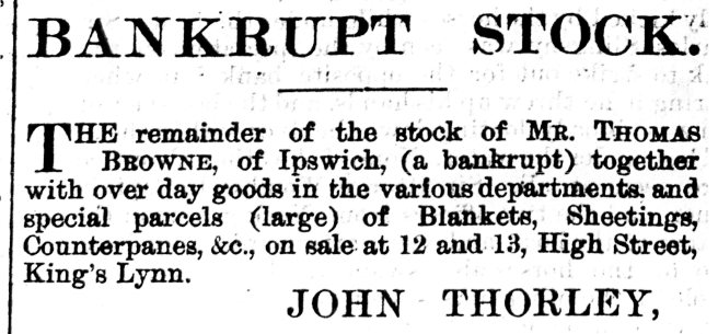 1869 Feb 13th John Thorley