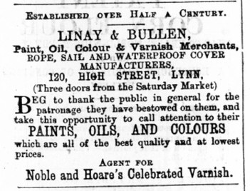 1876 April 29th Linay & Bullen @ 120