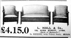 1932 Oct 21st L Hall & Co
