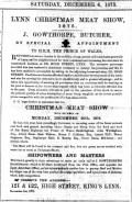 1875 December 4th J Gowthorpe @ Nos 121 & 122
