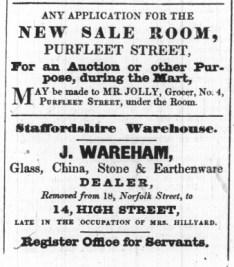 1842 Feb 15th J Wareham @ 14