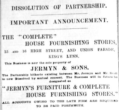 1892 Aug 6th Jermyn & Sons (01)