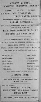 1893 May 6th Jermyn & Sons