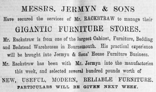 1894 May 26th Jermyn & Sons Mr Rackstraw (01)