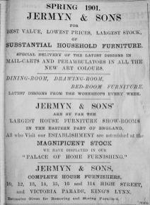 1901 Apr 5th Jermyn & Sons