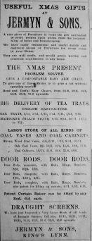 1914 Dec 4th Jermyn & Sons