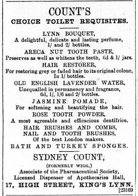 1887 Jan 1st Sydney Count @ No 17