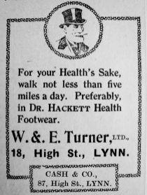 1928 Dec 7th W & E Turner Ltd
