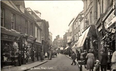 1930 (circa) High St Hamson Turner WH Smith