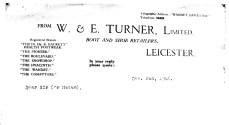 1946 Dec 11th W & E Turner headed paper (Rob Hall)