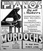 1931 Nov 13th Murdochs