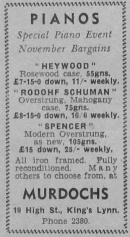 1951 Nov 23rd Murdochs