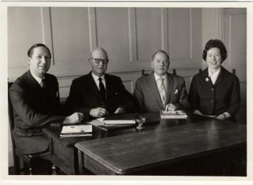 1963 Le Grice Bros directors FE EC DM & Barbara Le Grice (Barbara Le Grice)