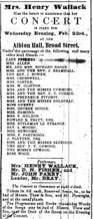 1848 Feb 19th John Bray