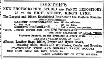 1895 April 13th Dexter @ Nos 23 to 26