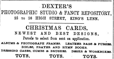 1895 Dec 14th Dexters 23 to 26