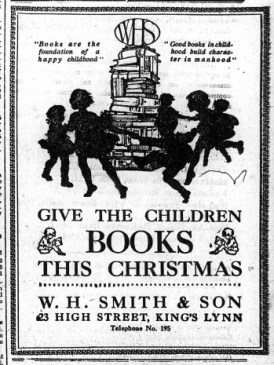 1923 Dec 14th WH Smith & Son @ No 23