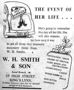 1950 May 12th W H Smith & Son
