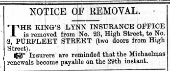 1870 Sept 24th KL Insurance Soc leaves No 23