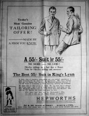 1927 May 6th Hepworths