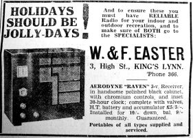 1934 May 18th W & F Easter