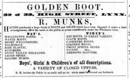 1861 March 30th R Munks @ Nos 32 & 33